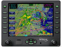 Avidyne EX600 Map Page