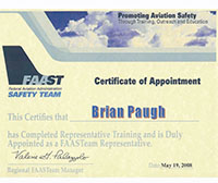 WINGS Certificate for Brian